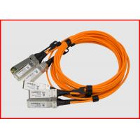 Buy cheap 3.0mm AOC Active Optical Cable Cisco SFP-10G-AOC10M Compatible 10G SFP+ from wholesalers