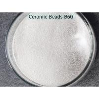 Buy cheap ZrO2 62% Ceramic Beads for sandblasting of mobile phone middle frame from wholesalers