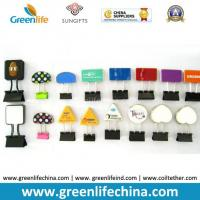 Buy cheap Office Stationery Popular Different Shapes Binder Paperclips Fateners from wholesalers
