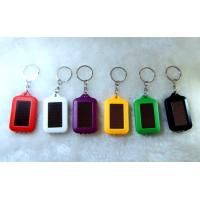Buy cheap Promotion gift powerd Solar Torch Led keychain, flashlight with logo, panel from wholesalers