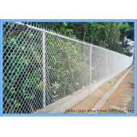 Buy cheap Hot dipped Galvanized 9gauge Chain lInk security fencing from wholesalers