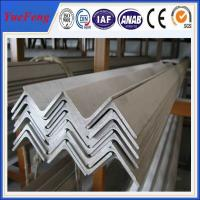 Buy cheap 6063 v slot aluminum profile / l shaped aluminum extrusion manufacturer / aluminum l angle from wholesalers