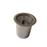 Buy cheap Etching Stainless Steel Ellipse 0.2mm Teacup Strainer from wholesalers
