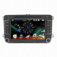 Buy cheap 7-inch Car Multimedia Player for VW, USB Cable/SD Cards/iPod/Radio/TV/RDS/TMC/GPS/Bluetooth  from wholesalers