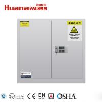 Buy cheap Fire Resistance Poison Storage Cabinet 1120*1090*460 mm For Toxic Chemical from wholesalers