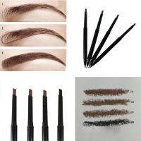 Buy cheap Smudge Proof Automatic Eyebrow Pencil , Black Waterproof Eyebrow Liner from wholesalers