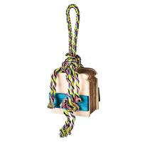 Buy cheap shred and find bird foraging toys peanut hiding cardboard with color rope from wholesalers