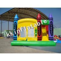 Crayon Adult Jumping Castle Gym Equipment With Eco
