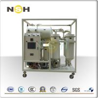 Buy cheap Vacuum Turbine Lube Oil System , Water Removal Turbine Oil Purification System from wholesalers