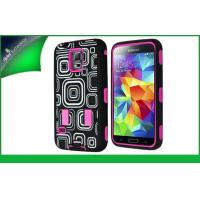 Buy cheap PC And Silicone Hybrid Samsung Mobile Phone Cases For Samsung S5 from wholesalers