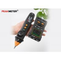 Buy cheap Black Electrical Cable Tracer , Network Wire Coax Cable Continuity Tester from wholesalers