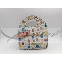 Waterproof Neoprene Food Bag Reusable / Kids Cooler Lunch Bag For School