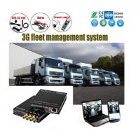 Buy cheap 4Ch SD Card HD 1080P vehicle DVR H.264 Car Alarm Monitoring System Solution from wholesalers