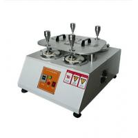 Buy cheap Fabric Martindale Abrasion Testing Machine , Martindale Abrasion Measurement Equipment , Martindale Testing Equipment from wholesalers