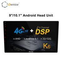 Buy cheap Ownice K6 8 Core Android Universal 2 Din Car Radio 9 10.1 Auto Audio Player Vedio GPS DSP Support 4G LTE from wholesalers