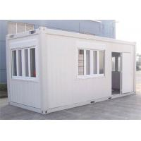 Buy cheap Home Decoration Storage Container Houses With Steel Tube / Bending Plate from wholesalers