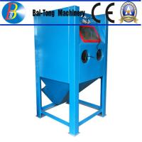 Buy cheap Stainless Steel Body Wet Abrasive Blasting Cabinet , Wet Sand Blasting Machine Pneumatic Pedal Switch from wholesalers