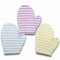 Buy cheap Body-exfoliating Gloves, Suitable for Gift and Promotion product