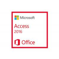Buy cheap 32/64 Bit Computer PC System Microsoft Access 2016 Download With NO Limit Language from wholesalers