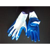 Buy cheap 13gauge polyester with nitrile coated glove from wholesalers