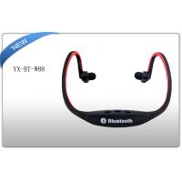 Buy cheap Black Sports Bluetooth 2.1 neck Back Headphones Noise Cancelling Headset OEM from wholesalers