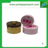 Buy cheap Custom Round Hat Tube Gift Soap Box Packaging Box for Flower / Wine / Candy / Tea / Perfume from wholesalers