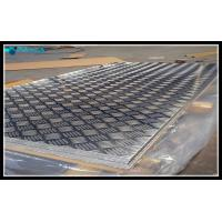 Buy cheap Treadplate Surface Hexagonal Honeycomb Roof Panels A3003 Material Moisture Proof from wholesalers