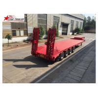 Buy cheap Long Haul Freight Transport Extendable Semi Trailer With Q345B Steel Structure product