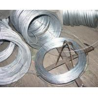 Buy cheap Silver Thin Redrawing Hot Dipped / Electro Galvanized Iron Wire 0.38mm from wholesalers