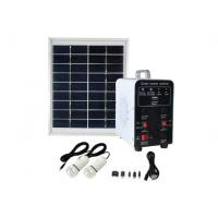 Buy cheap 4 W DC Off Grid Solar Power Systems With 9V/4W Solar Panel from wholesalers