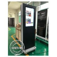 Buy cheap Movable 32 Inch Win10 Advertising Standee Computer With Wheels , 1500cd / M2 from wholesalers