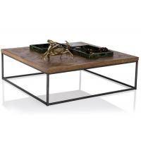 Buy cheap Industrial Style Solid Wood End Tables And Coffee Tables With Iron Frame from wholesalers