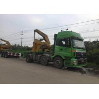 China 3 Axle Truck Mounted Crane Container For Transportation Self Loading on sale