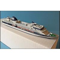 Custom Cruise Ship 3d Model With Independence Of The Seas Cruise Ship Shaped