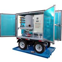 Buy cheap Weatherproof Double Stage Transformer Oil Filtration Plant with Trailer from wholesalers