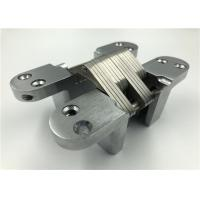 Buy cheap Zinc Alloy Mortise Mount Invisible Hinge Corrosion Resistance 40mm Thickness from wholesalers
