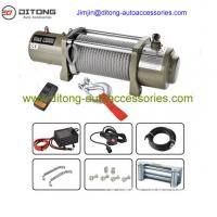 Buy cheap 4x4 12000lbs wireless heavy duty electric winches 12v/24v from wholesalers