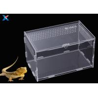 Buy cheap Customized Clear Acrylic Furniture , Acrylic Reptile Box OEM / ODM Available from wholesalers