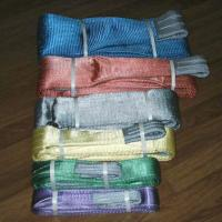 Buy cheap Single Ply Flat Webbing slings,sling from wholesalers