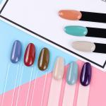 Buy cheap Round Head Nail Care Tools Acrylic Fake Nail Customized Size For Display Nail Polish Chart from wholesalers