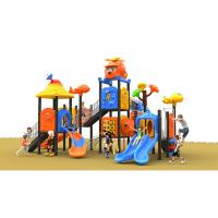 Buy cheap Anti Skid Rope Climbing Plastic Playset For Outside Orange Color In Summer from wholesalers