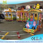 Buy cheap Hansel kids electric amusement train rides kiddie amusement rides train from wholesalers