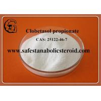 Buy cheap Clobetasol propionate Steroids white Powder for Muscle Building CAS 25122-46-7 from wholesalers
