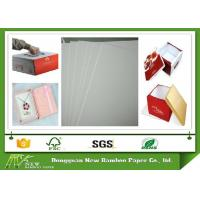 Buy cheap Strong and Folding Resistance Whiteboard Paper One Side Offset Paper with Grey Back from wholesalers