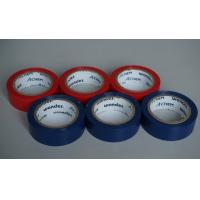 Buy cheap Shiny And Fire Retardant PVC Electrical Tape Blue / Red For Wires And Cables from wholesalers
