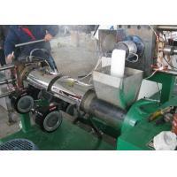 Waste PP PE plastic flakes/scraps double stage pelletzer/ granulator recycling machine