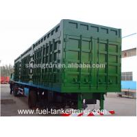 Buy cheap 50 Tons 3 Axles Cargo Box Van Semi Trailer For Cargos transport from wholesalers