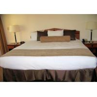 Buy cheap Villa Upholstered King Bed bedroom furniture headboard footboard from wholesalers