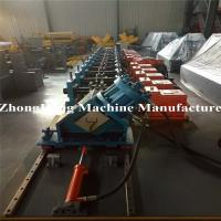 Buy cheap 3mm Thickness C Section Cold Roll Forming Equipment With Gearbox Drving from wholesalers