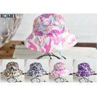 Buy cheap Camouflage Printing Custom Caps Hats Nylon Fabric Floral Bucket Hat from wholesalers